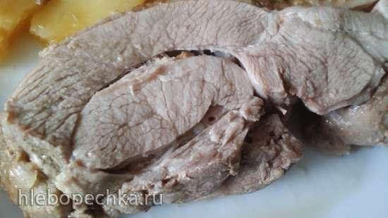 Geschmorte Putenkeule  или индейка томленая
