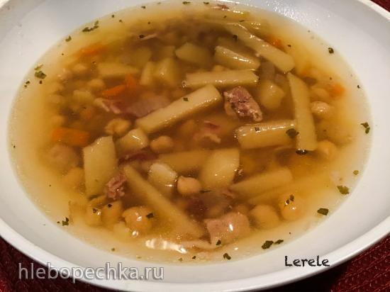 Суп с нутом в скороварке (Ninja Foodi® 6.5-qt)
