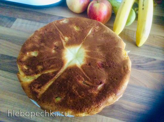 Яблочный пирог на сгущенке