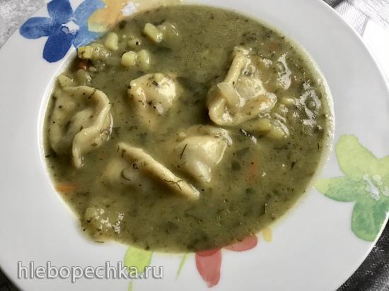 Овощной суп с пельменями в Ninja® Foodi® 6.5-qt.