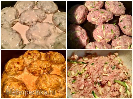 Тефтели с овощами (Multicuisine DeLonghi)