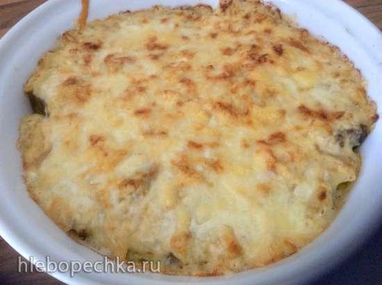Говядина разварная с сыром, или Как из одного куска мяса сделать полноценный обед