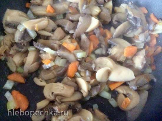 Суп грибной с сырными шариками