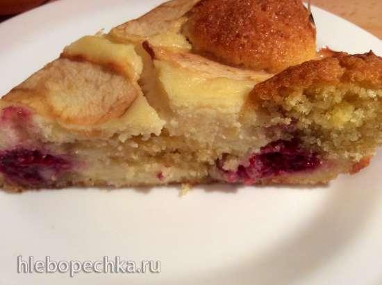 Фруктовый пирог по тюрингски Obstkuchen nach Thueringer Art (Bundeslaende - Thueringer)