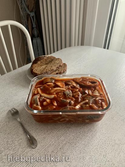 Вкусная сельдь в томатном маринаде