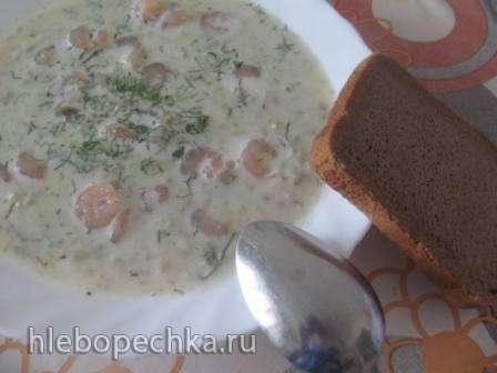 Рыбный суп-пюре с креветками (Добрыня суповар)