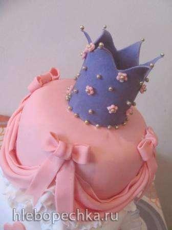 Короны, диадемы (торты)
