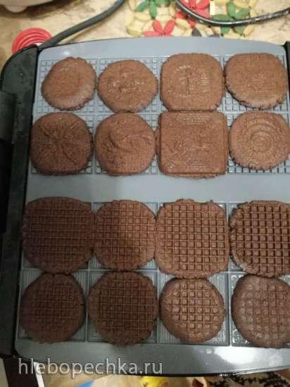 Шоколадные крекеры