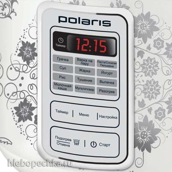 Мультиварки Polaris 0508D floris и Polaris PMC 0507d kitchen (отзывы)