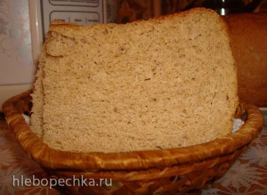 Хлеб с ржаной мукой  в мультиварке Polaris 0508D floris