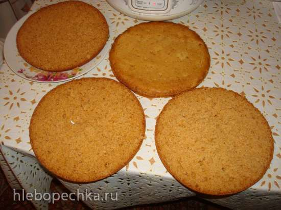 Медовый торт в мультиварке Polaris 0508D floris и  PMC 0507d kitchen