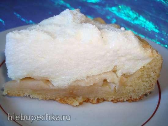 Песочный пирог с безе в мультиварке Polaris 0508D floris и  PMC 0507d kitchen