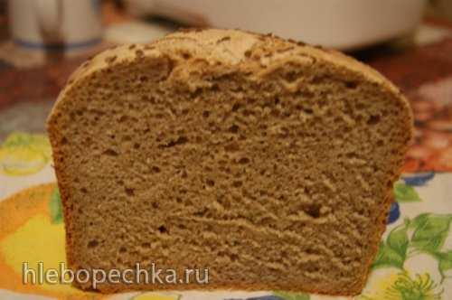 Хлеб пшенично-ржаной на закваске в хлебопечке