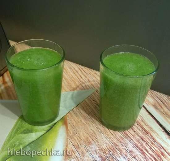 Зеленый смузи-завтрак