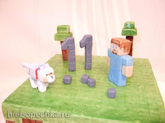 Торты по мотивам мультфильмов Трансформеры, Лего и прочие супергерои