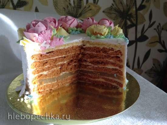 """Торт """"Карамельная девочка"""""""