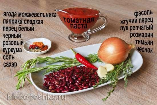 Жгучее танго (фасоль в томатах)