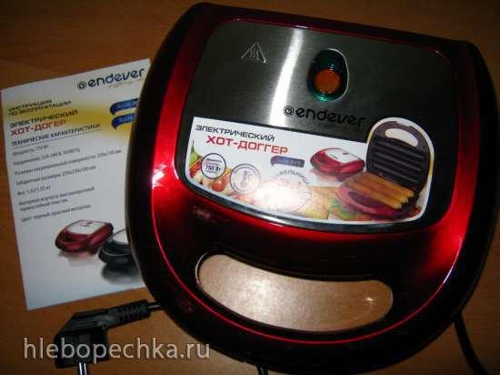 Прибор для приготовления сосисок в тесте (вафельница-сосисочница)