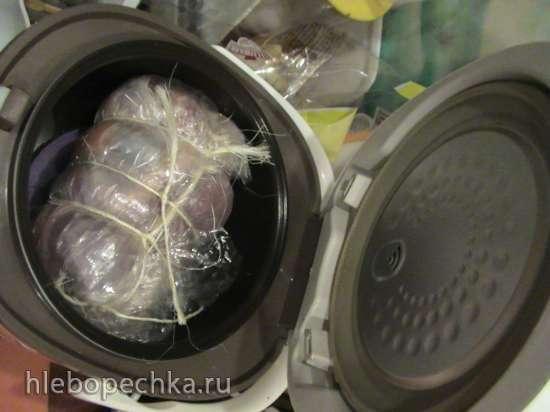 Карбонад из индейки в мультиварке Redmond RMC-01