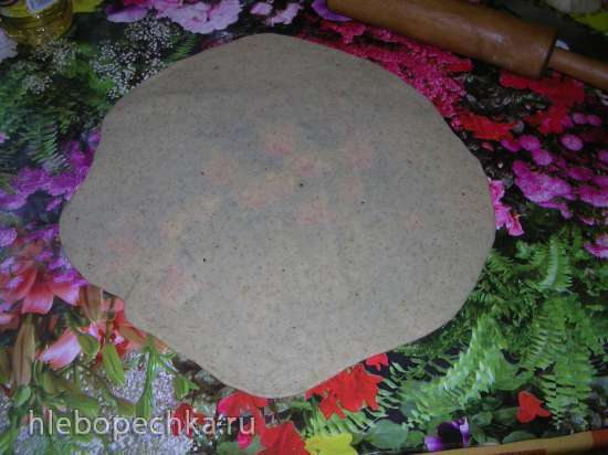 Тесто для пиццы (с отрубями)