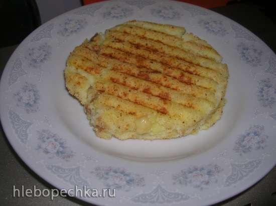 Картофельная запеканка с мясом в гриле Steba
