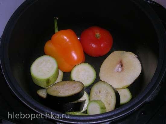 Теплый салат с айвой (Steba DD1 ECO)