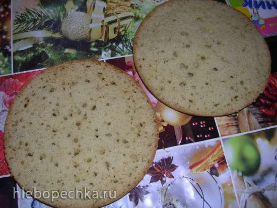 Бисквит с кокосовым молоком ( Steba DD1 ECO)