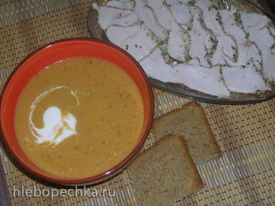 Суп из Нута с овощами (мультиблендер Profi Cook PC-МСМ1024)