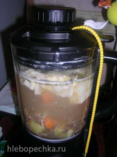 Рисовый суп-пюре  (мультиблендер Profi Cook PC-МСМ1024)