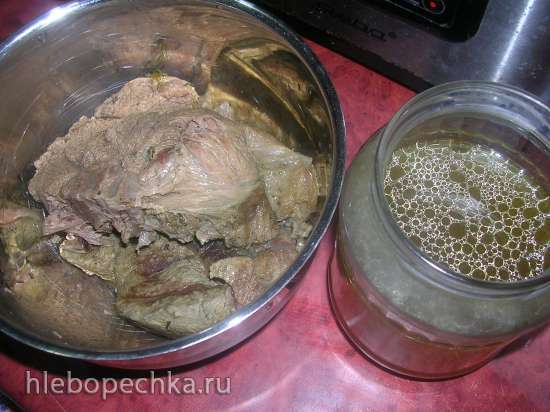 Паштет говяжий с лисичками (мультиблендер Profi Cook PC-МСМ1024)