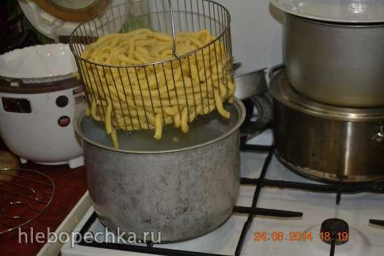 Спагетти (Машинка для изготовления макарон Regina Marcato )