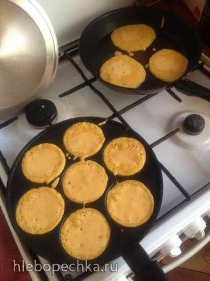 Морковно-имбирные блинчики (Мультиблендер Profi Cook PC-МСМ1024)