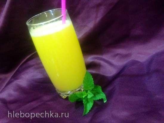 Апельсиновый напиток на сыворотке (Мультиблендер ProfiCook PC-MCM 1024)