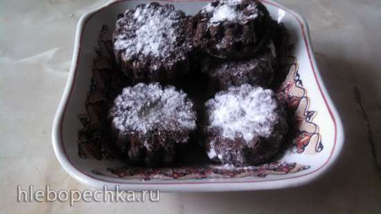 Простой шоколадный кекс