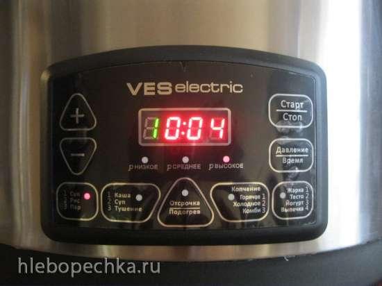 Мультиварка-скороварка-коптильня VES SK-A80 (8л)