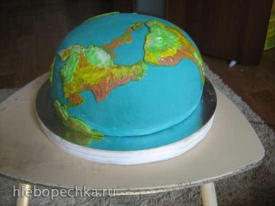 Торт «Полусфера» (мастер-класс)