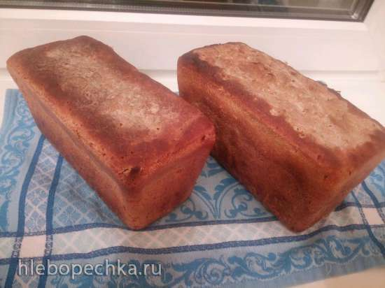 Вечная хмелевая закваска  и хлеб из неё