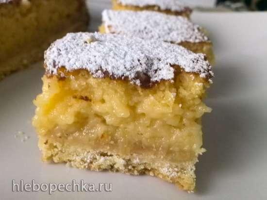 Манго-лимонные полоски (Mango Lemon Bars)