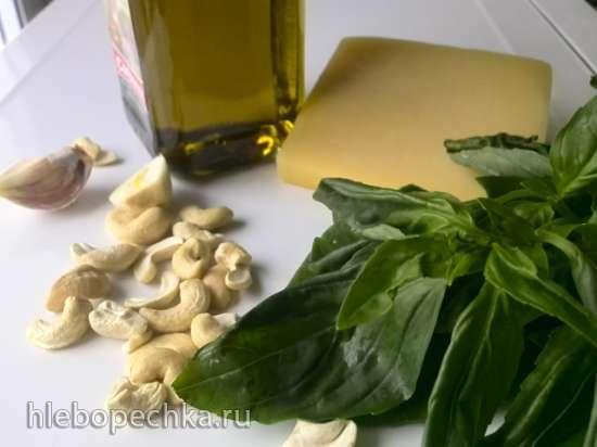 Кабачок «Спагетти» со шпинатом Песто (Zucchini Spaghetti with Spinach Pesto)