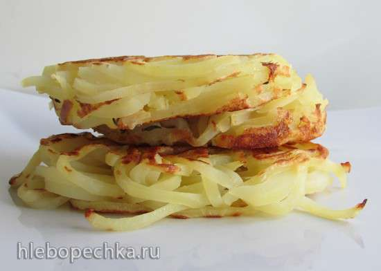 Картофельные гамбургеры