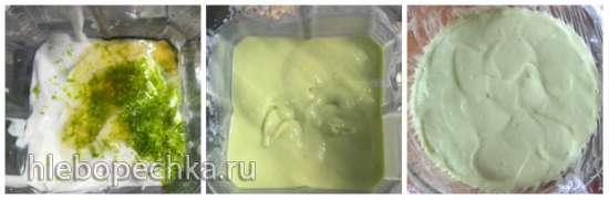 Десерт из авокадо и лайма (Healthy Avocado-Lime Pie)