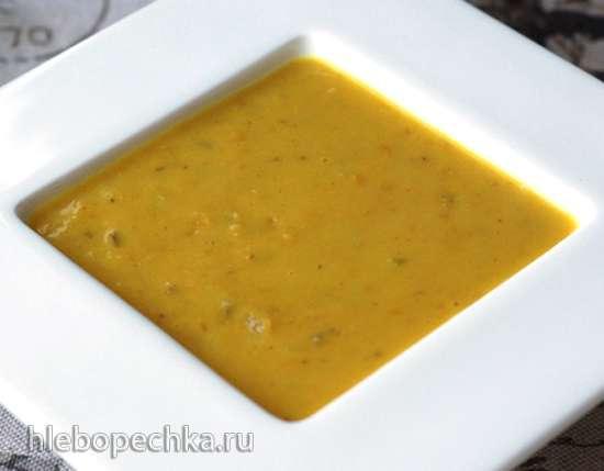 Суп из красной чечевицы с кокосовым молоком в мультиварке Steba DD2