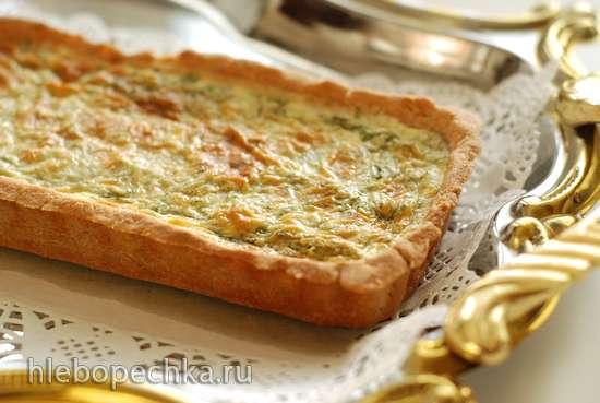 Пирог со спаржей и эстрагоном