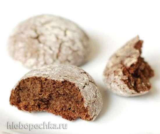 Нутово-черемуховое печенье