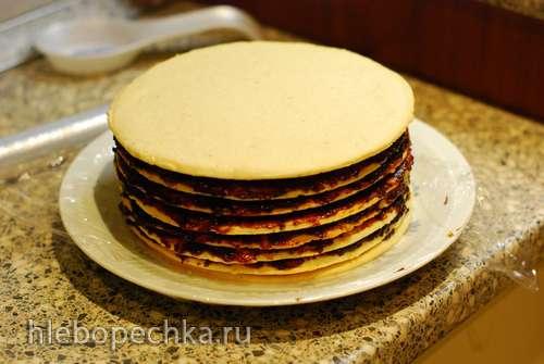 Винартерта - полосатый пирог из Исландии