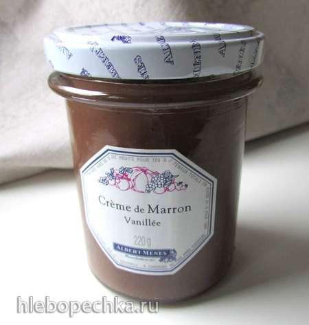 Каштановый крем с ванилью