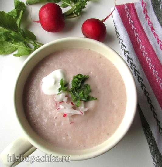 Суп из редиски