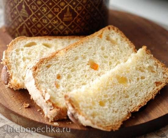 Кулич по рецепту пасхальной итальянской коломбы