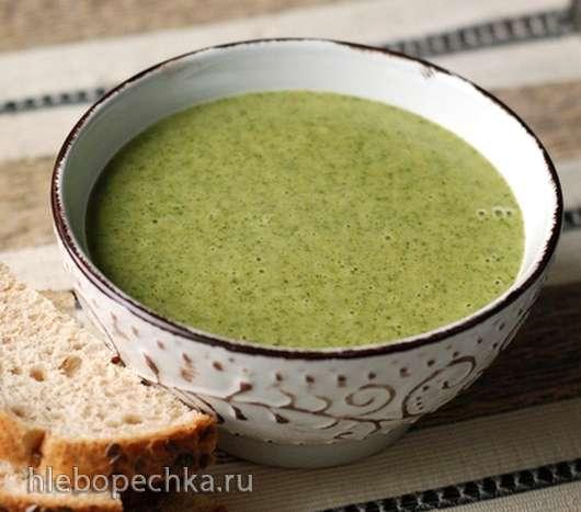 Рисовый суп-пюре со шпинатом