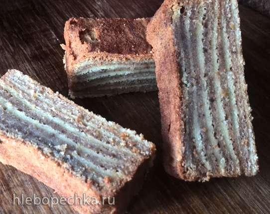 Многослойный пирог (Lapis legit or layered cake)